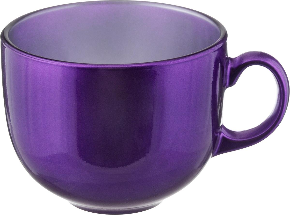 Бульонница Luminarc Flashy Colors, цвет: фиолетовый, 500 мл115510Бульонница Luminarc Flashy Colors изготовлена из высококачественного стекла, оснащена эргономичной ручкой. Изделие дополнит коллекцию кухонной посуды и будет служить долгие годы. Можно мыть в посудомоечной машине и использовать в микроволновой печи. Диаметр (по верхнему краю): 10,5 см.Высота бульонницы: 9 см.