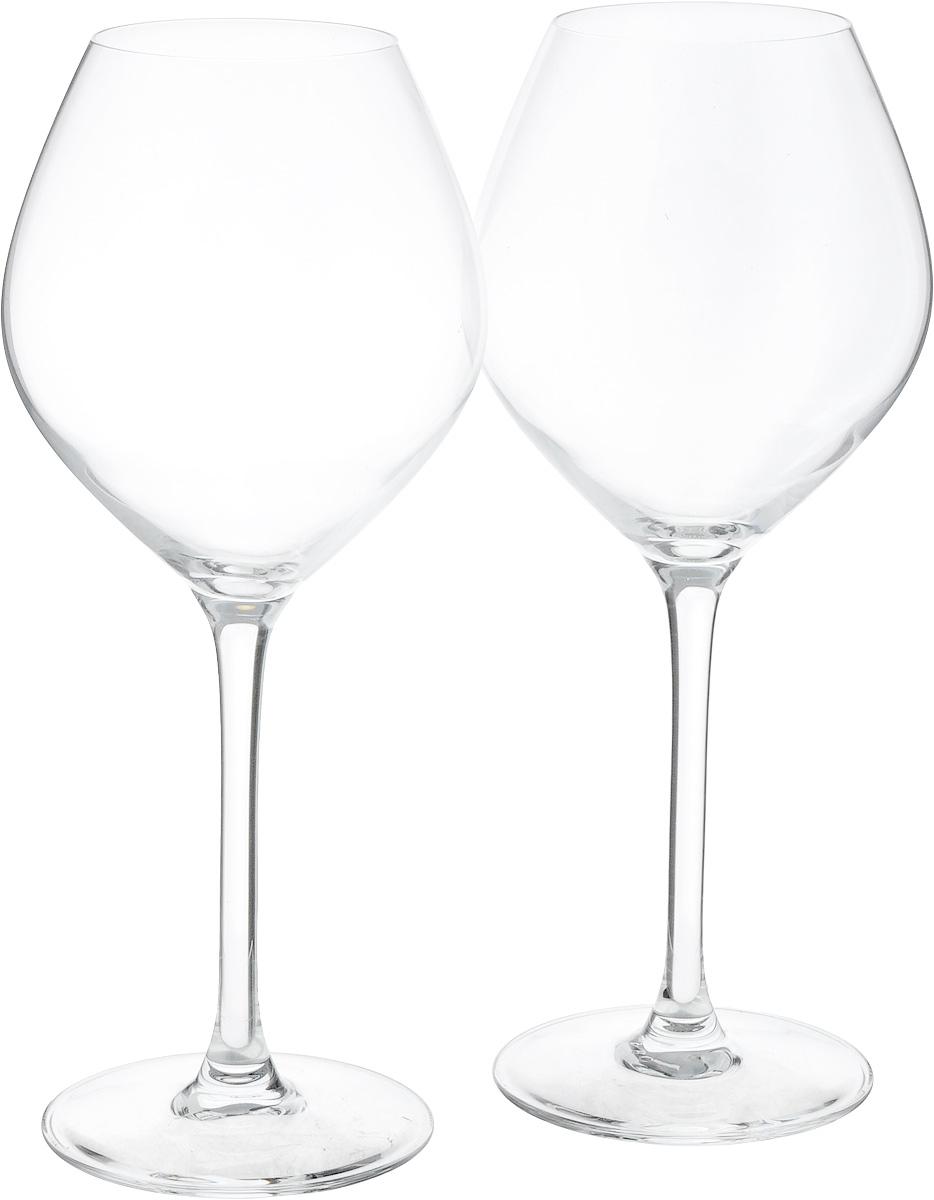 Набор бокалов Luminarc Vinery Excellence, 470 мл, 2 штE8037Набор Luminarc Vinery Excellence состоит из двух бокалов, выполненных из ударопрочного стекла. Изделия оснащены высокими ножками и предназначены для подачи белого вина. Такой набор прекрасно оформит праздничный стол и создаст приятную атмосферу за романтическим ужином. Диаметр фужера (по верхнему краю): 6 см. Высота фужера: 22,8 см.