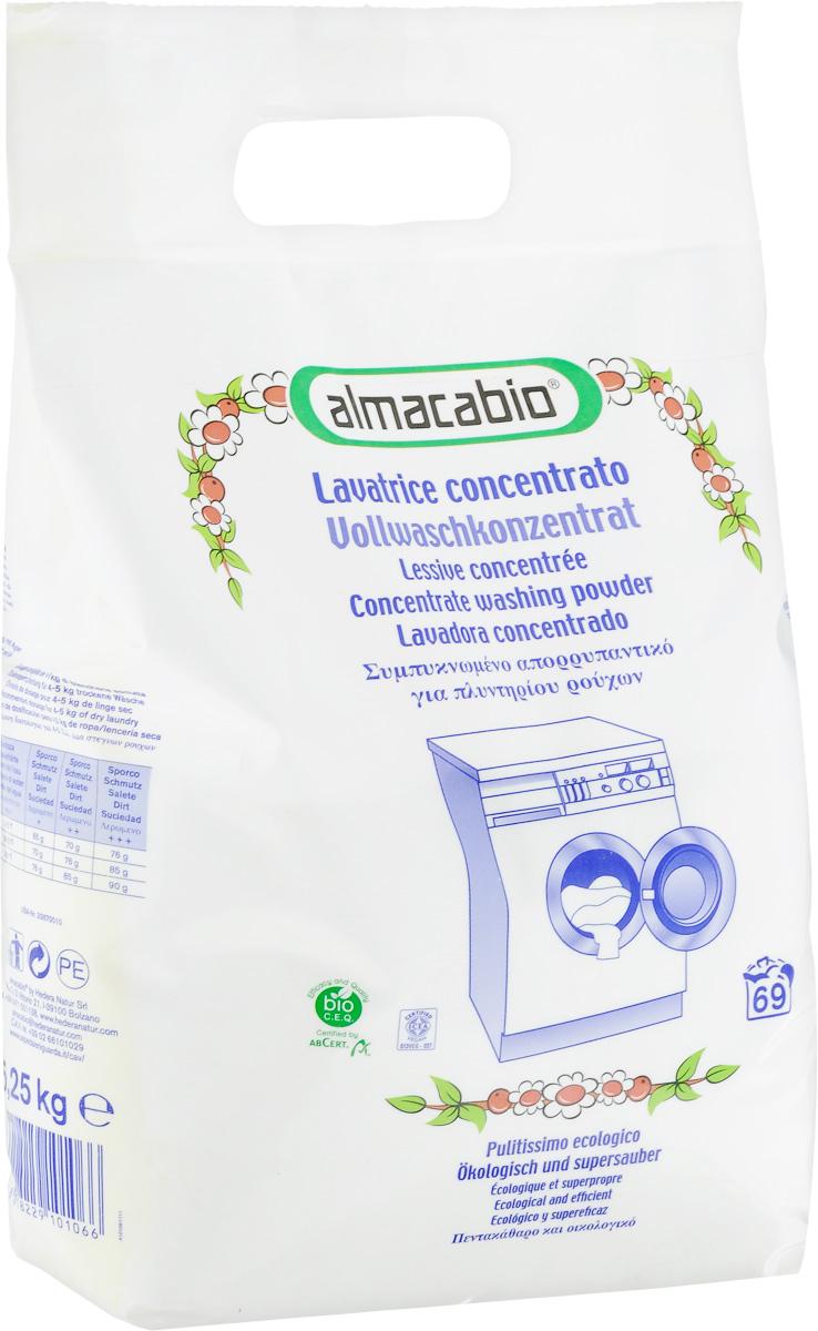 Порошок стиральный Almacabio Washing Powder Pack, 5,25 кгFS32614Стиральный порошок Almacabio Washing Powder Pack идеально подходит для стирки постельного белья и одежды. Отлично удаляет загрязнения, смешанные пятна, пятна от жира, органических отходов. Устраняет неприятные запахи и оставляет приятный аромат. Придает одежде мягкость, смягчает волокна тканей. Не содержит загустителей, нейтрализует остатки щелочных веществ после стирки. Не требуется дополнительной специальной защиты стиральной машины от известковых отложений. Помогает предотвратить образование накипи и отложений. Подходит для машинной стирки. Не содержит фосфор, фосфаты, ферменты и ингредиенты природного происхождения.Товар сертифицирован.