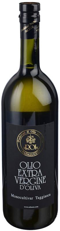 Roi Оливковое масло Extra Vergine из оливок Ogliarola Taggiasca, 1 л8014512007022Нерафинированное оливковое масло из оливок двух сортов: 50% таджаска и 50% ольярола. Обладает нежным ароматом, сладковатым вкусом и имеет насыщенный желтый цвет.