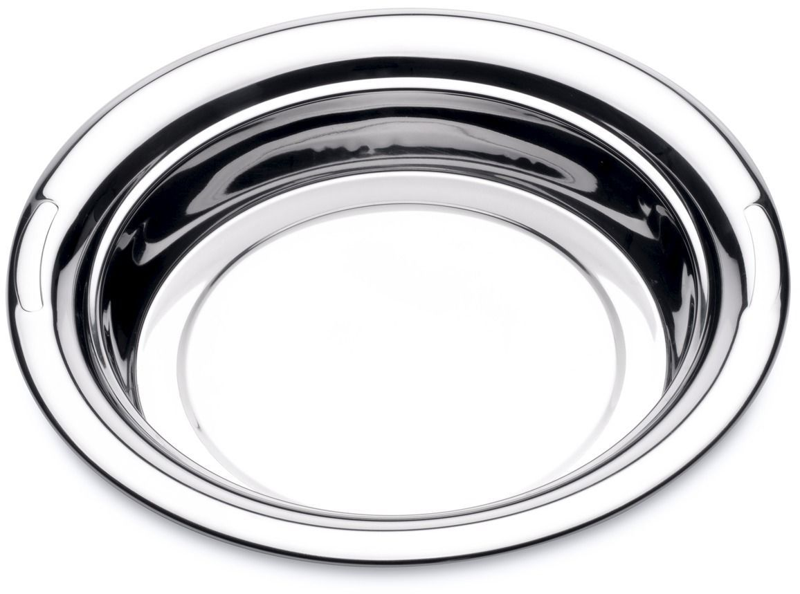 Блюдо BergHOFF Straight, круглое, диаметр 30 см115510Блюдо BergHOFF Straight - из нержавеющей стали — материал, обладающий весьма гигиеничной поверхностью. Благодаря безупречной полировке без трещин и царапин, на поверхности посуды не скапливаются микробы и бактерии. Посуда из нержавеющей стали десятилетиями сохраняет безупречный внешний вид: не ржавеет, не ветшает. Преимущества блюда BergHoff: изготовлено из высококачественной нержавеющей стали;зеркальная полировка;поверхность обладает защитными свойствами, гигиенична, ее легко чистить;стойко переносит кислоты и щелочи;не меняет вкуса и цвета пищи;выдерживая неблагоприятные условия эксплуатации;посуда из нержавеющей стали очень прочная и долговечная;можно мыть в посудомоечной машине