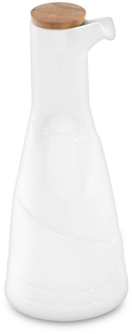 Бутылка для уксуса BergHOFF Hotel, 370 мл78611004Бутылка для уксуса BergHOFF Hotel изготовлена из высококачественного прочного витрофарфора (соединение керамики и стекла). Толстые стенки покрыты эмалью, что сохраняет фарфор от царапин, а также от потемнения.