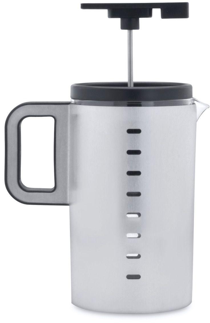 Френч-пресс BergHOFF Neo, 800 млVT-1520(SR)Френч-пресс BergHOFF Neo предназначен для приготовления кофе методом настаивания и отжима, а также для заваривания чая и различных трав. Центральный элемент френч-прессов - плунжер - представляет собой фильтр с ручкой, позволяющий эффективно отделять сырье от напитка при отжиме. Корпус, фильтр и крышка выполнены из высококачественной нержавеющей стали с зеркальной полировкой, колба изготовлена из термостойкого стекла. Эргономичная прорезиненная ручка обеспечивает надежный хват и комфорт во время использования. Специальная сеточка-фильтр эффективно задерживает чаинки и кофейный осадок.