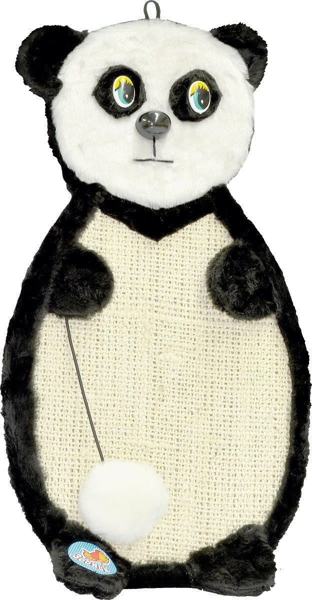Когтеточка Зооник  Панда , подвесная, 53 х 29 х 3 см - Когтеточки и игровые комплексы