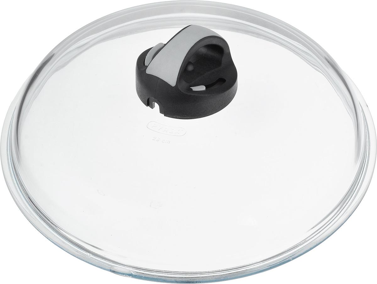 Крышка Ballarini Igloo, высокая. Диаметр 28 см391602Крышка Ballarini Igloo, изготовленная из жаростойкого стекла, снабжена уникальной пластиковой ручкой со специальным механизмом для выпуска пара, благодаря чему блюда готовятся в идеальных условиях. Паровыпуск можно регулировать или вообще закрыть при необходимости. Изделие удобно в использовании и позволяет контролировать процесс приготовления пищи.Можно мыть в посудомоечной машине.Диаметр крышки: 28 см.Высота крышки (с учетом ручки): 11 см.