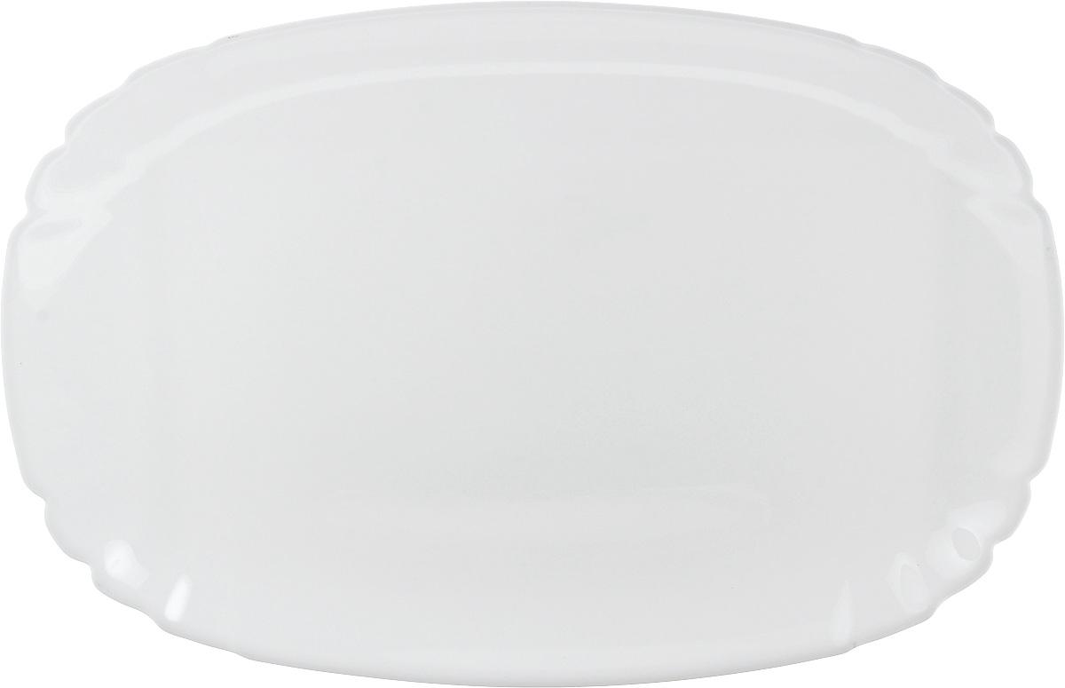 Блюдо Luminarc Lotusia, овальное, 34 х 23 см115510Овальное блюдо Luminarc Lotusia, изготовленное из ударопрочного стекла, оформлено в классическом стиле.Изделие идеально подойдет для сервировки стола и станет отличным подарком к любому празднику.