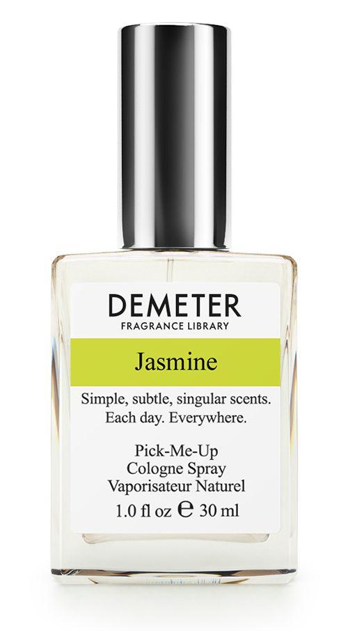 Demeter Fragrance Library Духи-спрей Жасмин (Jasmine), 30 мл13012107 ноября 1987 года в Тунисе произошла бескровная смена власти, которая попала в историю под названием «жасминовая революция». В 2011 году произошла ещё одна «жасминовая революция». Её совершил наш парфюмерный дом, выпустив аромат «Жасмин». Он летний, свежий и символизирует мир во всем мире. Peace, bro!Способ применения: Нанести на сухую, чистую кожу. На точки пульса, волосы, одежду.