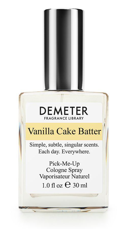 Demeter Fragrance Library Духи-спрей Ванильная сдоба (Vanilla cake batter), женские, 30 мл28032022Qu'ils mangent de la brioche! Вы когда-нибудь заходили с утра в настоящую пекарню, из которой доносится аромат свежего хлеба, вкусных тортов и румяных булочек с вареньем? Наверняка вы понимаете, о чем речь: когда голову дурманит тот самый теплый и очень сладкий запах. Для тех, кто был в такой пекарне, новый аромат от Demeter Ванильная сдоба — это отличный способ закрепить свои сладкие кулинарные воспоминания. А тем, кто не бывал там, рекомендуется сначала попробовать эти духи. У вас нет хлеба? Берите Vanilla Cake Batter!Способ применения: нанести на сухую, чистую кожу. На точки пульса, волосы, одежду. Духи считаются самым изысканным видом парфюмерной продукции и содержат самый большой процент ароматической композиции (от 15% до 30% и более), растворенной в очень чистом спирте (96% об.). Высокое содержание экстракта обеспечивает духам большую стойкость и силу по сравнению с другими видами парфюмерных товаров. Всего лишь пары капель достаточно для того, чтобы запах держался в течение 5 и более часов. Товар сертифицирован.