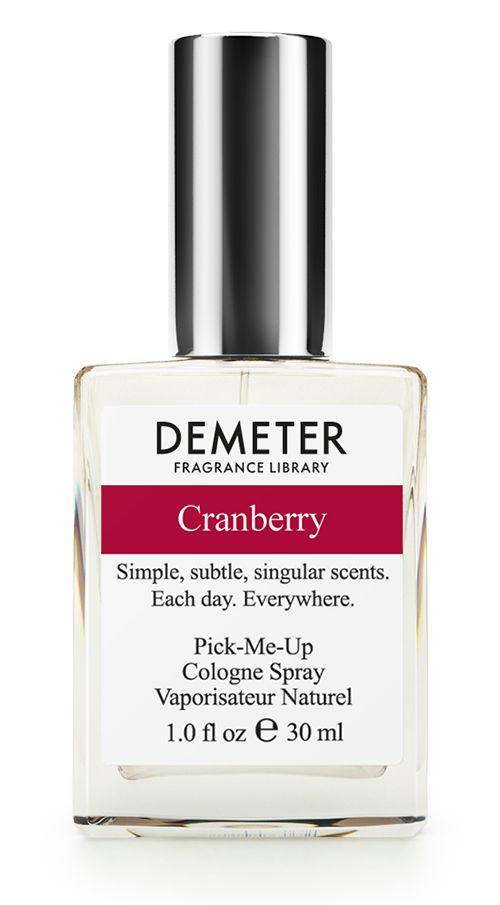 Demeter Fragrance Library Духи-спрей Cranberry, 30 мл1301210Духи-спрей Cranberry от Demeter Fragrance обладают приятным фруктовым ароматом. Главный секрет клюквы состоит в том, что внутри этой ягоды есть небольшое количество воздуха, что позволяет ей плавать на поверхности воды. Некоторые так её собирают - наводняют поле - и сразу ягоду в кузовок. А та, которую не поймали, пускается в путешествие по морям и океанам. Вот так клюква с Восточного побережья США добралась и до нас. Но уже в виде флакона с духами. Просим любить и жаловать!Способ применения: Нанести на сухую, чистую кожу. На точки пульса, волосы, одежду.Товар сертифицирован.