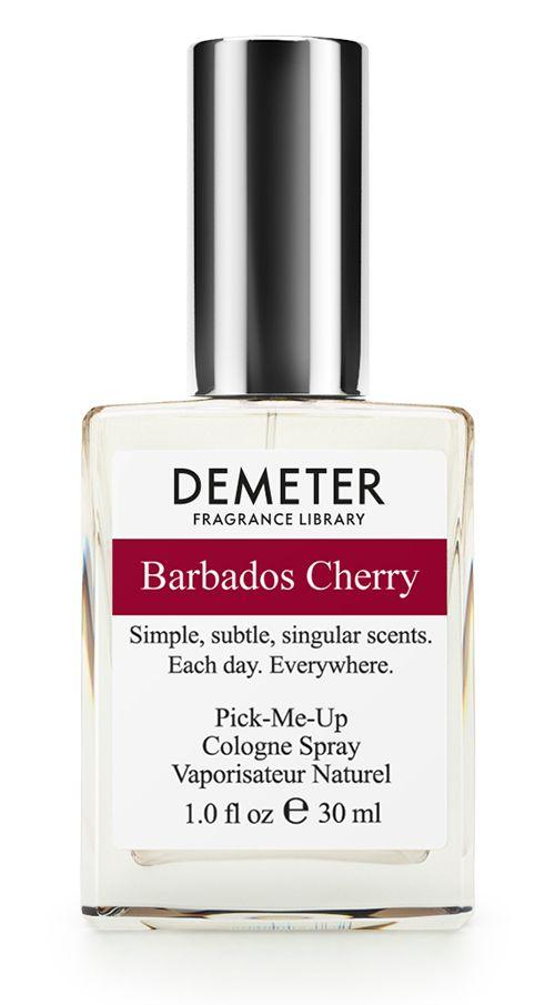 Demeter Fragrance Library Духи-спрей Барбадосская вишня (Barbados cherry), женские, 30 мл28032022Друзья, а как насчет Барбадоса? Нет, не поехать отдыхать. Речь идет о барбадосской вишне или ацероле. У Demeter появился новый свежий и очень нежный аромат. Главное отличие от простой вишни заключается в том, что это совершенно другое семейство растений. Ацерола чуть более кислая (что отразилось на этом аромате), ну, и, по слухам, ее использовал сам Брюс Ли в качестве БАДа. А это уже не шутки!Способ применения: нанести на сухую, чистую кожу. На точки пульса, волосы, одежду.Духи считаются самым изысканным видом парфюмерной продукции и содержат самый большой процент ароматической композиции (от 15% до 30% и более), растворенной в очень чистом спирте (96% об.). Высокое содержание экстракта обеспечивает духам большую стойкость и силу по сравнению с другими видами парфюмерных товаров. Всего лишь пары капель достаточно для того, чтобы запах держался в течение 5 и более часов.Товар сертифицирован.