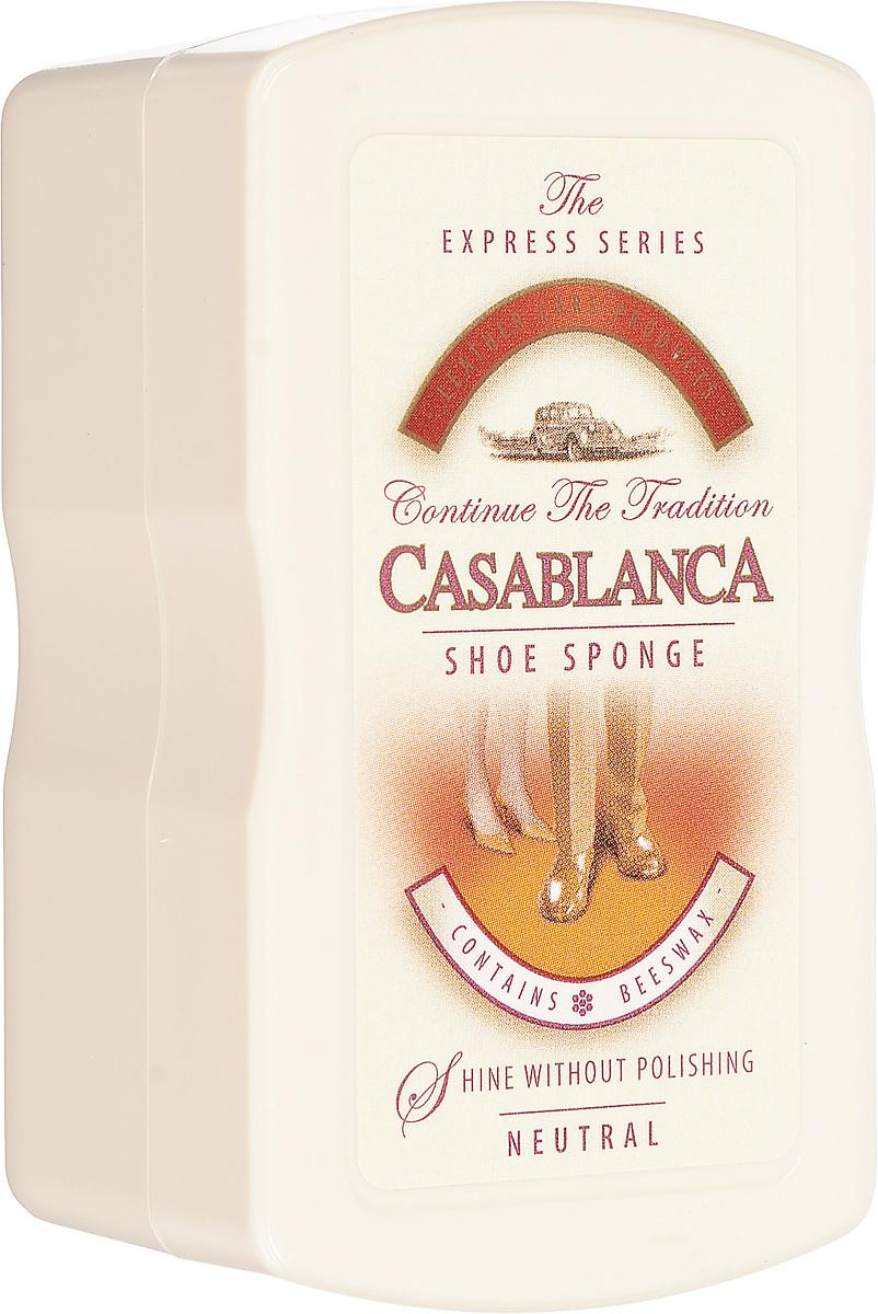 Губка для обуви Casablanca, цвет: бесцветныйMW-3101Губка для обуви Casablanca, цвет: бесцветный