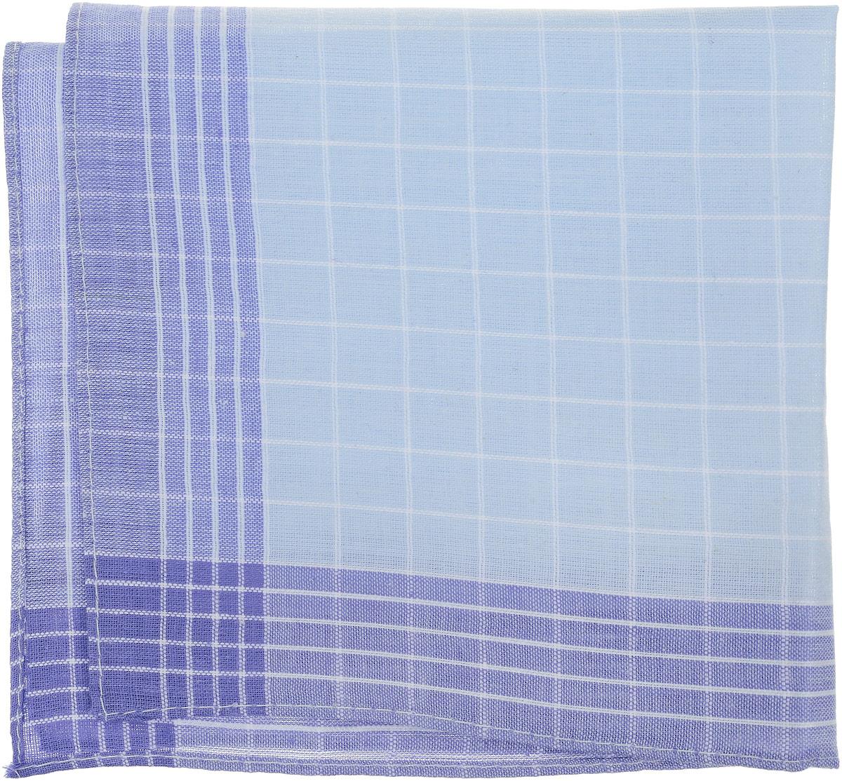 Платок носовой женский Zlata Korunka, цвет: синий, голубой. 71417. Размер 27 х 27 см, 4 штСерьги с подвескамиНосовой платок Zlata Korunka изготовлен из высококачественного натурального хлопка, благодаря чему приятен в использовании, хорошо стирается, не садится и отлично впитывает влагу. Практичный и изящный носовой платок будет незаменим в повседневной жизни любого современного человека. Такой платок послужит стильным аксессуаром и подчеркнет ваше превосходное чувство вкуса.В комплекте 4 платка.