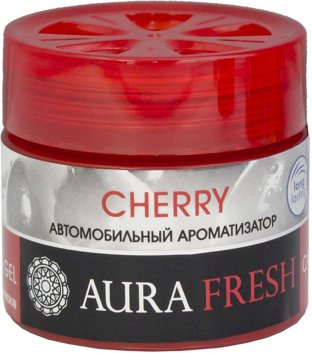 Ароматизатор автомобильный Aura Fresh Cherry, на панельAUR-CG-0007Ароматизатор Aura Fresh крепится на панель внутри автомобиля. Водителю больше не понадобится все время открывать окна для проветривания. Диффузор поддерживает ощущение чистоты и свежести. Ароматическая композиция раскрывается постепенно и ненавязчиво и обеспечивает нежный запах, который сохраняется максимально долго.