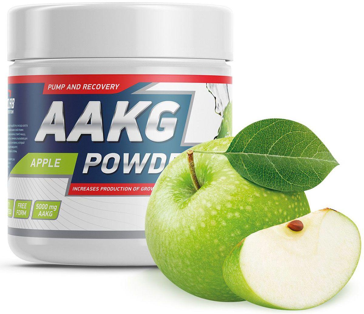 Аргинин Geneticlab  AAKG Powder , яблоко, 150 г - Аминокислоты