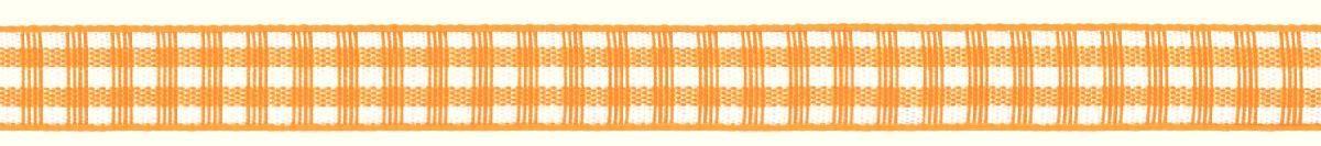 Лента декоративная Prym Клетка, цвет: белый, желтый, 10 мм, 4 мNLED-454-9W-BKЛента для украшения, поделок, оформления и упаковки подарков