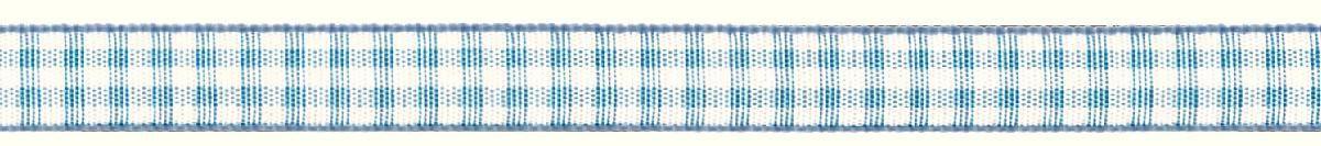 Лента декоративная Prym Клетка, цвет: белый, голубой, 10 мм, 4 м907303Лента декоративная Prym Клетка подходит для украшения, поделок, оформления и упаковки подарков.Ширина: 10 мм. Длина: 4 м.
