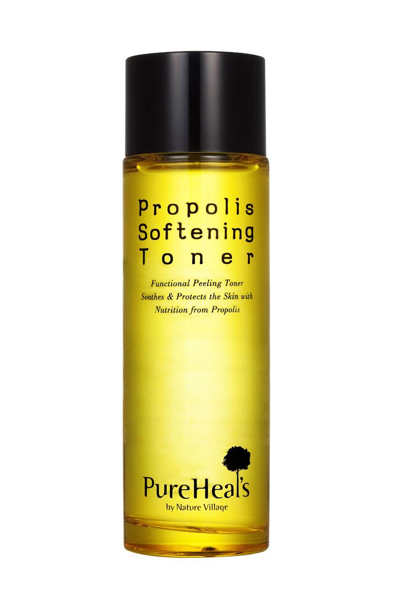 PurehealS Тоник для лица с экстрактом прополиса Propolis Softening Toner, 125 млFS-00897Увлажняющая линия разработанная для чувствительной кожи. Укрепляет и создает естественный щит благодаря натуральному прополису медоносной пчелы! Линия Propolis эффективно успокаивает кожу и защищает ее. Тонер с мягкими компонентами для отшелушивания и совершенного свечения кожи. Мягко очищает и увлажняет кожу, так что она выглядит свежей, здоровой и светящейся изнутри. Тонер имеет двойное действие: позволяет скрыть покраснения, выровняв цвет лица, а также сгладить морщинки.