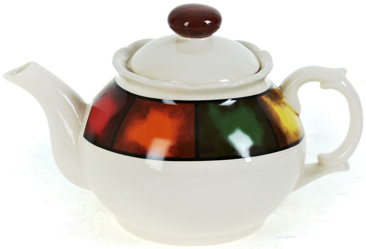 Чайник заварочный ENS Group Мармелад, 950 мл115510Заварочный чайник Мармелад изготовлен из высококачественной керамики. Изделие прекрасно подходит для заваривания вкусного и ароматного чая, а также травяных настоев. Отверстия в основании носика препятствуют попаданию чаинок в чашку. Яркий дизайн сделает чайник настоящим украшением стола.