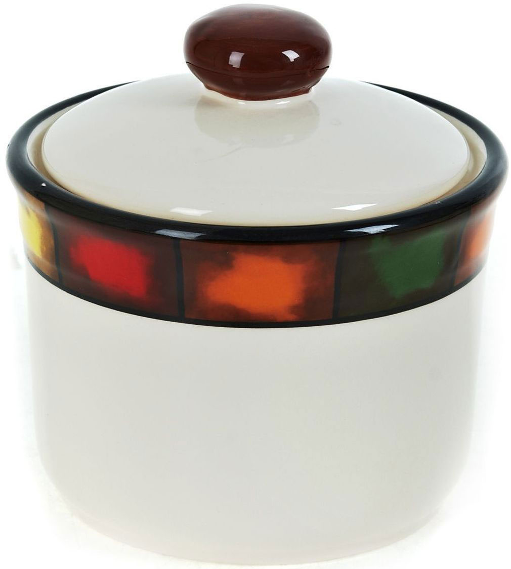 Банка для сыпучих продуктов ENS Group Мармелад, 700 млVT-1520(SR)Банка для сыпучих продуктов Мармелад изготовлена из прочной керамики, закрывается крышкой. Банка прекрасно подойдет для хранения различных сыпучих продуктов: чая, кофе, сахара, круп и многого другого. Изящная емкость не только поможет хранить разнообразные сыпучие продукты, но и стильно дополнит интерьер кухни.