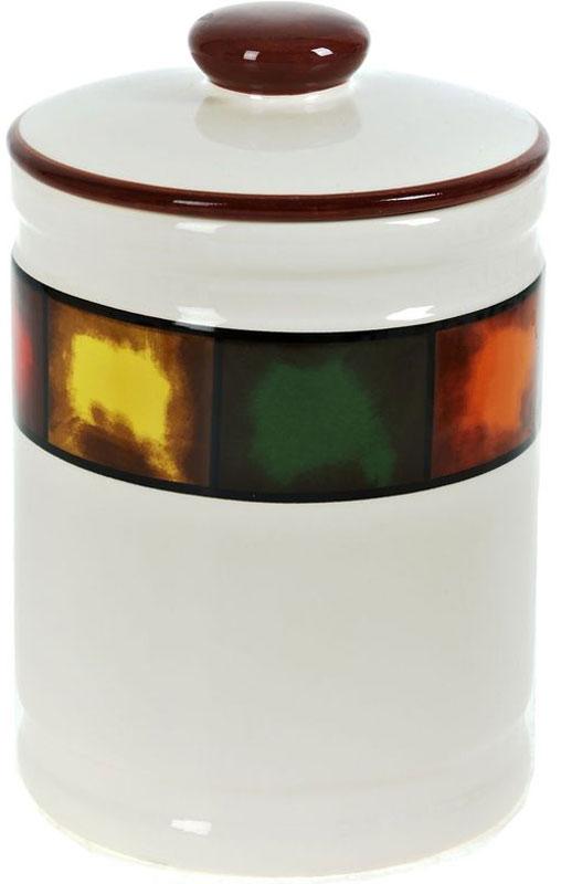 Банка для сыпучих продуктов ENS Group Мармелад, 1,45 лVT-1520(SR)Банка для сыпучих продуктов Мармелад изготовлена из прочной керамики, закрывается крышкой. Банка прекрасно подойдет для хранения различных сыпучих продуктов: чая, кофе, сахара, круп и многого другого. Изящная емкость не только поможет хранить разнообразные сыпучие продукты, но и стильно дополнит интерьер кухни.