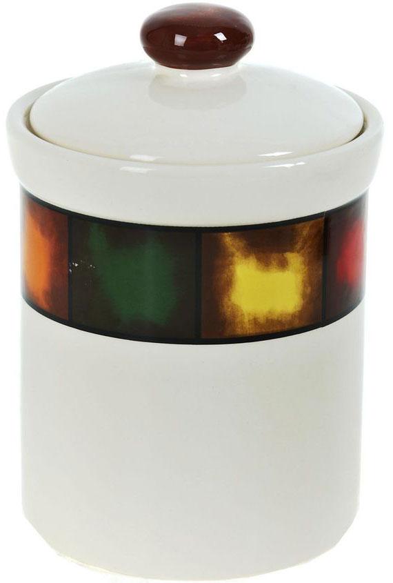 Банка для сыпучих продуктов ENS Group Мармелад, 1 млVT-1520(SR)Банка для сыпучих продуктов Мармелад изготовлена из прочной керамики, закрывается крышкой. Банка прекрасно подойдет для хранения различных сыпучих продуктов: чая, кофе, сахара, круп и многого другого. Изящная емкость не только поможет хранить разнообразные сыпучие продукты, но и стильно дополнит интерьер кухни.
