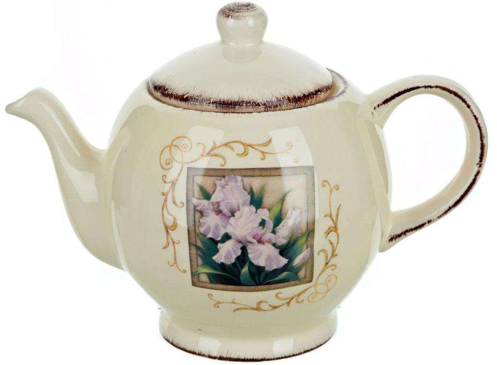 Чайник ENS Group Розовый ирис, 1,26 лVT-1520(SR)Заварочный чайник Розовый ирис изготовлен из высококачественной керамики. Изделие прекрасно подходит для заваривания вкусного и ароматного чая, а также травяных настоев. Отверстия в основании носика препятствуют попаданию чаинок в чашку. Яркий дизайн сделает чайник настоящим украшением стола.