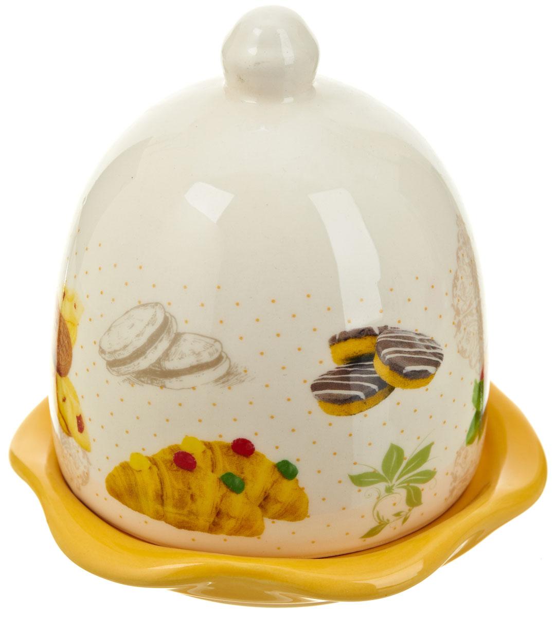 Лимонница Polystar ХлебVT-1520(SR)Лимонница Хлеб выполнена из высококачественной керамики и состоит из блюдца и крышки. Оригинальный дизайн, несомненно, придется вам по вкусу. Лимонница Хлеб поможет сохранить свежесть лимона на длительный срок.