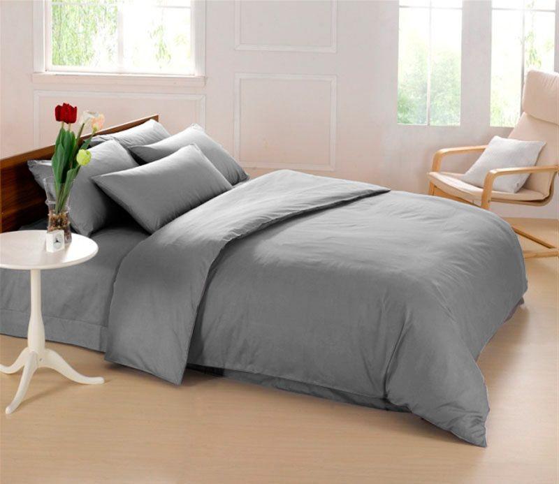 Комплект белья Sleep iX Perfection, 2-спальный, наволочки 70х70, цвет: серый. pva215374SVC-300Комплект белья Sleep iX Perfection выполнен из микрофреша (100% микрофибра). Микрофреш - это легкая, нежная и неприхотливая в уходе ткань.Комплект белья Sleep iX Perfection станет прекрасным подарком для родных и близких, отлично впишется в любой интерьер спальни.Размер пододеяльника: 180 х 220 см.Тип застежки на пододеяльнике: молния (100 см).Размер простыни: 220 х 240 см.Размер наволочек: 70 х 70 см (2 шт).