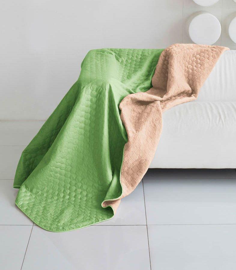 Комплект для спальни Sleep iX Multi Set, евро, цвет: салатовый, темно-бежевый, 4 предмета. pva221551S03301004Комплект для спальни Sleep iX Multi Set состоит из покрывала, простыни, 2 наволочеr. Верх многофункционального одеяла-покрывала выполнен из мягкой микрофибры, которая хорошо сохраняет тепло, устойчива к стирке и износу, а низ выполнен изискусственного меха. Этот мех не требует специального ухода, он легко чистится и долгое время сохраняет мягкость и внешний вид. Наволочки, простыня и чехлы подушек выполнены из микрофибры. Комплект для спальни Sleep iX Multi Set - это прекрасный способ придать спальне уют и привнести в интерьер что-то новое.Размер одеяла-покрывала: 200 х 220 см.Размер простыни: 230 х 240 см.Размер наволочек: 50 х 70 см. (2 шт)Наполнитель: Силиконизированное волокно.