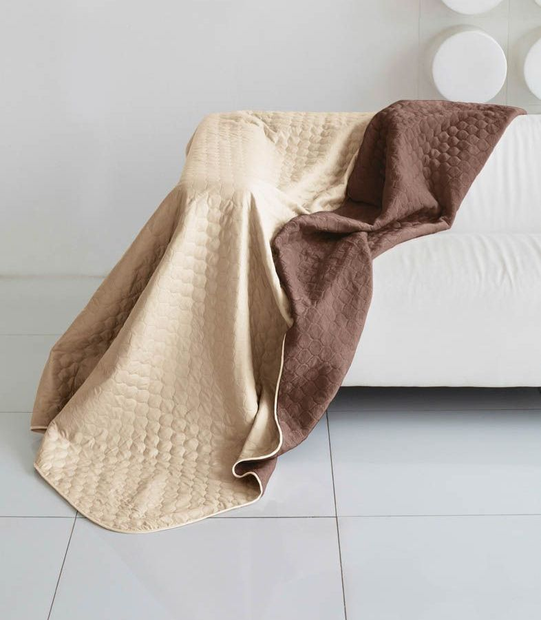 Комплект для спальни Sleep iX Multi Set, евро макси, цвет: бежевый, коричневый, 4 предмета. pva221579U210DFКомплект для спальни Sleep iX Multi Set состоит из покрывала, простыни и 2 наволочек. Верх многофункционального одеяла-покрывала выполнен из мягкой микрофибры, которая хорошо сохраняет тепло, устойчива к стирке и износу, а низ выполнен изискусственного меха. Этот мех не требует специального ухода, он легко чистится и долгое время сохраняет мягкость и внешний вид. Наволочки, простыня и чехлы подушек выполнены из микрофибры. Комплект для спальни Sleep iX Multi Set - это прекрасный способ придать спальне уют и привнести в интерьер что-то новое.Размер одеяла-покрывала: 220 х 240 см.Размер простыни: 230 х 240 см.Размер наволочек: 50 х 70 см. (2 шт)Наполнитель: Силиконизированное волокно.