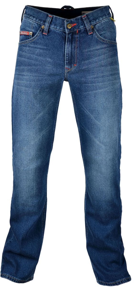 Мотоджинсы Starks Python, цвет: синий. Размер 30one116Мотоджинсы STARKS – безупречное сочетание качества, комфорта и безопасности.Особенностью кроя мотоджинсов STARKS является полностью гражданский вид: отсутствие дополнительных швов, строчек и других элементов, которые обычно присутствуют на джинсах для мотоциклистов. Такой внешний, ничем не выдающий высококачественную защитную мотоэкипировку, позволит вам не беспокоиться о сменной одежде при поездках на работу или в путешествиях. Джинсы для мотоциклов STARKS выполнены из плотной джинсовой ткани и прошиты армированной нитью.Уникальная комбинированная подкладка: Арамидная ткань и ткань COOLMAXАрамид (полный аналог кевлара) используется в части подкладки джинсов STARKS и защищает от трения, порезов и ожогов при падении и скольжении основные зоны нижней части тела : ягодицы, бедренные кости, наружные части ног справа и слева, коленные суставы. COOLMAX используется как часть комбинированной подкладки мотоджинсов в неуязвимых местах. Также из этого материала изготовлены карманы для защитных коленных вставок. Использование этого материала обеспечивает отведение влаги, воздухопроницаемость, охлаждение и полный комфорт для нижней части даже в очень жаркую погоду. При этом материал не вызывает аллергических реакций. Защиту от ударов в области коленей обеспечивают вставки английской компании KNOX, выполненные из новейшего материала MICRO-LOCK и сертифицированные по стандарту безопасности EN1621-2 (CE).Мотоджинсы STARKS изготовлены с запасом длины штанин, что позволяет избежать эффекта коротких штанов при посадке на мотоцикле с согнутым коленом и рассчитаны на рост до 192 см.Регулировка коленных вставок по высоте (до 12 см) и возможность подвернуть/подшить штанины позволяет использовать мото джинсы для мотоциклистов разного роста: от 164 см до 192 см. Джинсы оснащены карманами для защитных вставок тазобедренных суставов (бедер). Вставки для бедер в комплект не входят. Вы можете приобрести их отдельно. Рекомендуем использовать