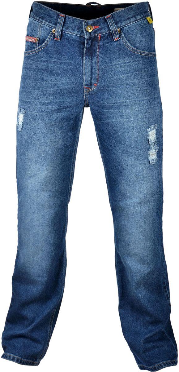 Мотоджинсы Starks Python-T, цвет: синий. Размер 34one111Мотоджинсы STARKS – безупречное сочетание качества, комфорта и безопасности.Особенностью кроя мотоджинсов STARKS является полностью гражданский вид: отсутствие дополнительных швов, строчек и других элементов, которые обычно присутствуют на джинсах для мотоциклистов. Такой внешний, ничем не выдающий высококачественную защитную мотоэкипировку, позволит вам не беспокоиться о сменной одежде при поездках на работу или в путешествиях. Декоративные потертости/дырки подшиты изнутри тканью DENIM и не снижают уровня безопасности джинсов. При этом выглядят такие мотоджинсы очень привлекательно. Джинсы для мотоциклов STARKS выполнены из плотной джинсовой ткани и прошиты армированной нитью.Уникальная комбинированная подкладка: Арамидная ткань и ткань COOLMAXАрамид (полный аналог кевлара) используется в части подкладки джинсов STARKS и защищает от трения, порезов и ожогов при падении и скольжении основные зоны нижней части тела : ягодицы, бедренные кости, наружные части ног справа и слева, коленные суставы. COOLMAX используется как часть комбинированной подкладки мотоджинсов в неуязвимых местах. Также из этого материала изготовлены карманы для защитных коленных вставок. Использование этого материала обеспечивает отведение влаги, воздухопроницаемость, охлаждение и полный комфорт для нижней части даже в очень жаркую погоду. При этом материал не вызывает аллергических реакций. Защиту от ударов в области коленей обеспечивают вставки английской компании KNOX, выполненные из новейшего материала MICRO-LOCK и сертифицированные по стандарту безопасности EN1621-2 (CE).Мотоджинсы STARKS изготовлены с запасом длины штанин, что позволяет избежать эффекта коротких штанов при посадке на мотоцикле с согнутым коленом и рассчитаны на рост до 192 см.Регулировка коленных вставок по высоте (до 12 см) и возможность подвернуть/подшить штанины позволяет использовать мото джинсы для мотоциклистов разного роста: от 164 см до 192 см. Джинсы оснащены к