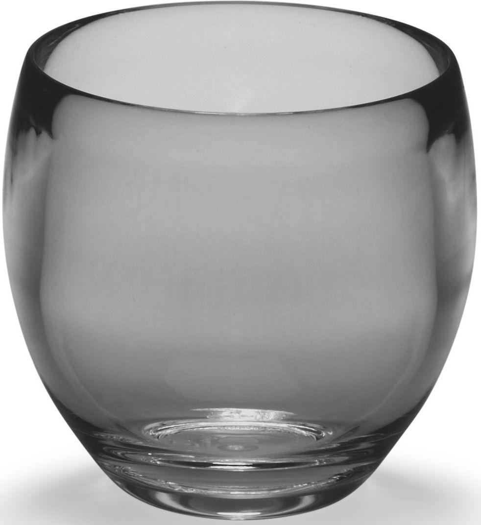 Стакан для ванной Umbra Droplet, цвет: дымчатый, 9,3 х 9,6 х 9,6 см391602Серию аксессуаров Droplet характеризуют плавные линии, прозрачные материалы и мягкие цвета. Благодаря современным технологиям, аксессуары выглядят как стеклянные, но при этом прочные и небъющиеся. Такой красивый и лаконичный стакан из прозрачного акрила станет достойным украшением раковины в любой ванной комнате. Дизайн: Michelle Ivankovic
