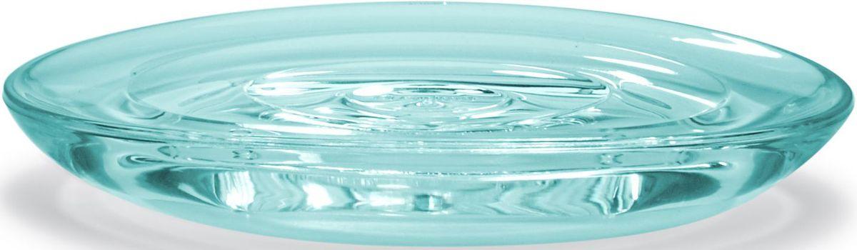 Мыльница Umbra Droplet, цвет: морская волна, 3 х 9 х 10 см68/5/1Функциональность мыльницы неоспорима - именно она защищает нашу раковину от мыльных подтеков и пятен. А как насчет дизайна? В Umbra уверены: такой простой и ежедневно используемый предмет должен выглядеть лаконично, но необычно. Ведь в небольшой ванной комнате не должно быть ничего вызывающе яркого. Немного экспериментировав с формой, дизайнеры создали эффектную стеклянную мыльницу Droplet, которая придется кстати в любом доме!