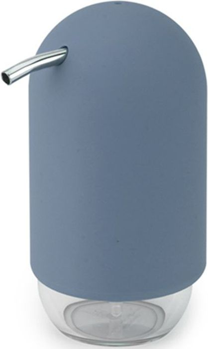 Диспенсер для мыла Umbra Touch, цвет: дымчато-синий, 14 х 7,5 х 9,5 смRG-D31SУдобный и стильный диспенсер для жидкого мыла. Изготовлен из литого пластика. Прозрачная нижняя часть служит как индикатор количества мыла. Объем - 235 мл. Дизайн: Alan Wisniewski
