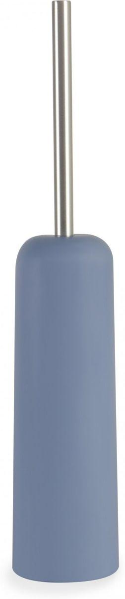 Ершик туалетный Umbra Touch, цвет: дымчато-синий, 9 х 9 х 44 см68/5/1Нужный предмет для туалетной комнаты, выполненный в простом классическом дизайне. Материал — литой пластик. Дизайн: Alan Wisniewski