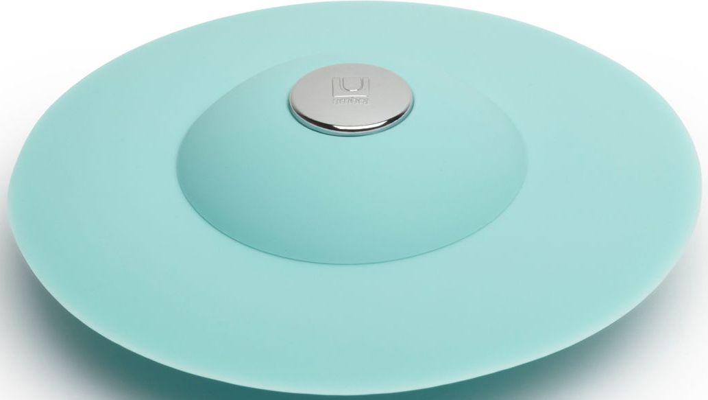 Фильтр для слива Umbra Flex, цвет: ярко-голубой, 3,2 х 8,9 х 8,9 см531-105Если вы думали, что ещё удобнее сделать фильтр для слива невозможно, вы ошибались! Нажмите на металлическую кнопку в центре, чтобы вода сливалась через фильтр, задерживая в нём мусор. Нажмите на резиновые крылышки вокруг кнопки, и фильтр закроет слив, чтобы вы смогли наполнить ванну. Сочетается с другими аксессуарами из коллекции FLEX Дизайнер Anthony Keeler