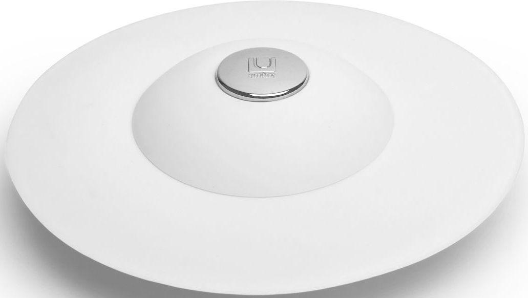 Фильтр для слива Umbra Flex, цвет: белый, 3,2 х 8,9 х 8,9 см68/5/4Если вы думали, что ещё удобнее сделать фильтр для слива невозможно, вы ошибались! Нажмите на металлическую кнопку в центре, чтобы вода сливалась через фильтр, задерживая в нём мусор. Нажмите на резиновые крылышки вокруг кнопки, и фильтр закроет слив, чтобы вы смогли наполнить ванну. Сочетается с другими аксессуарами из коллекции FLEX Дизайнер Anthony Keeler