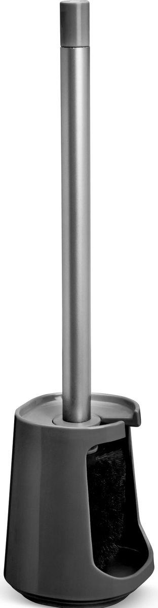 Ершик туалетный Umbra Step, цвет: темно-серый, 11 х 11 х 42 см68/5/1Step – коллекция минималистичных и функциональных предметов, изготовленных из меламина. Нужный предмет для туалетной комнаты, выполненный в простом и при этом интересном дизайне. Изготовлен из меламина.Дизайн: Tom Chung