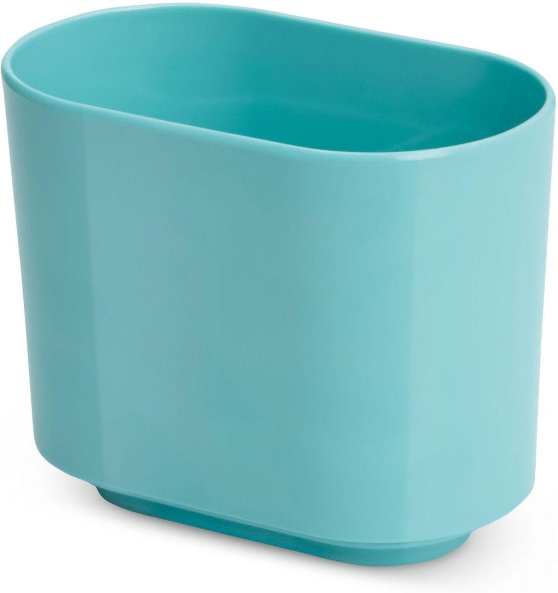 Стакан для зубных щеток Umbra Step, цвет: морская волна, 12,7 х 10,2 х 7 смRG-D31SФункциональность подставки для зубных щеток неоспорима - где же еще их хранить. А вот как насчет дизайна? В Umbra уверены: такой простой и ежедневно используемый предмет должен выглядеть лаконично, но необычно. Ведь в небольшой ванной комнате не должно быть ничего вызывающе яркого. Немного экспериментировав с формой, дизайнеры создали подставку Step, которая придется кстати в любом доме и вместит зубные щетки всех членов семьи.