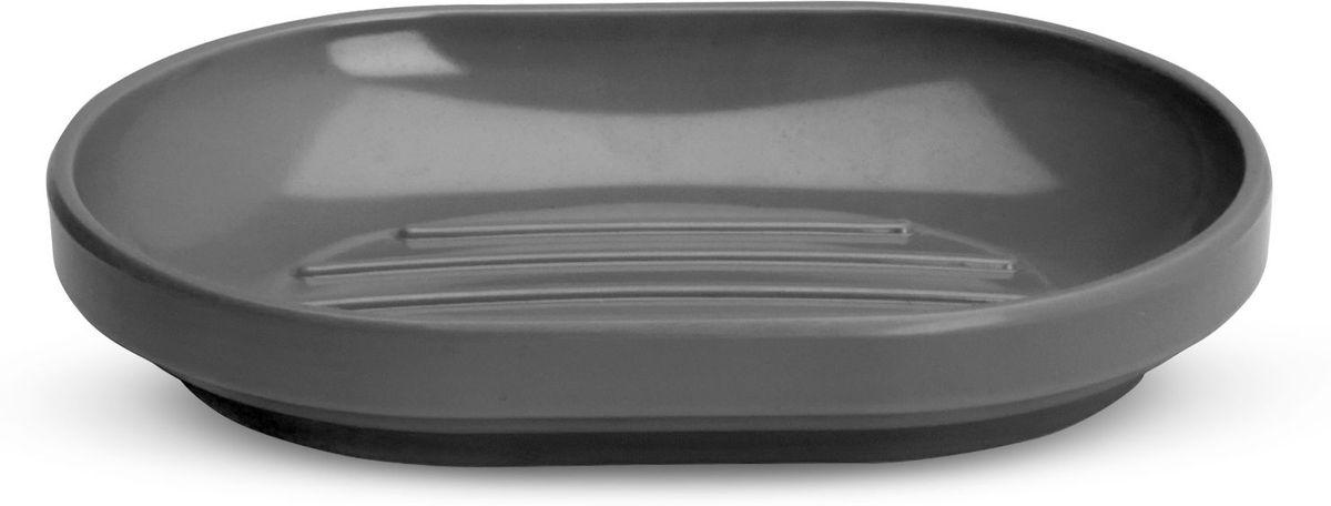 Мыльница Umbra Step, цвет: темно-серый, 2,5 х 10 х 15 смRG-D31SStep – коллекция минималистичных и функциональных предметов, изготовленных из меламина. Лаконичная и простая мыльница с нескользящим основанием. Дизайн: Tom Chung