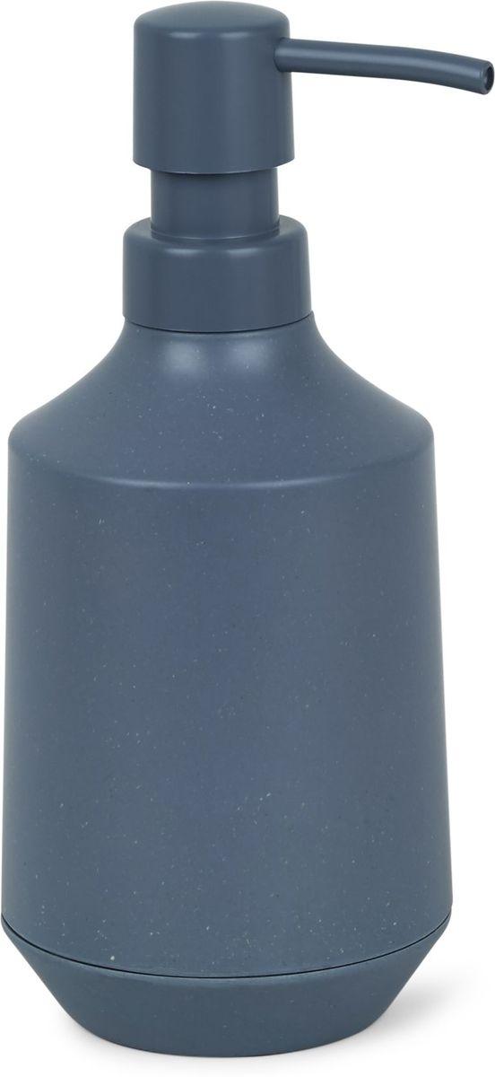 Диспенсер для мыла Umbra Fiboo, цвет: дымчато-синий, 19,1 х 8,3 х 8,3 см68/5/1Диспенсер для жидкого мыла изготовлен из комбинированного материала (меламин и бамбуковое волокно), который отличает экологичность, износостойкость и уникальный матовый эффект. Благодаря лаконичному дизайну будет гармонично смотреться в любой ванной комнате. Он также подойдет для кухни в качестве диспенсера для моющего средства. Объем 236 мл.Дизайнер Wesley Chau
