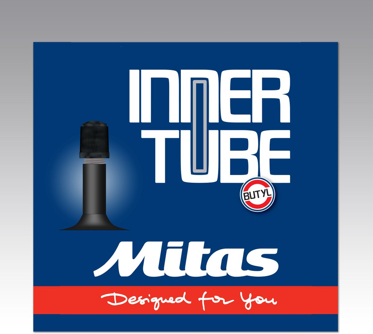 Велокамера Mitas A03 AV35, цвет: черный, 700 х 2,55-10302041-111: 700 x 25 / 35C (25/37-622/635)Ниппель: автомобильный