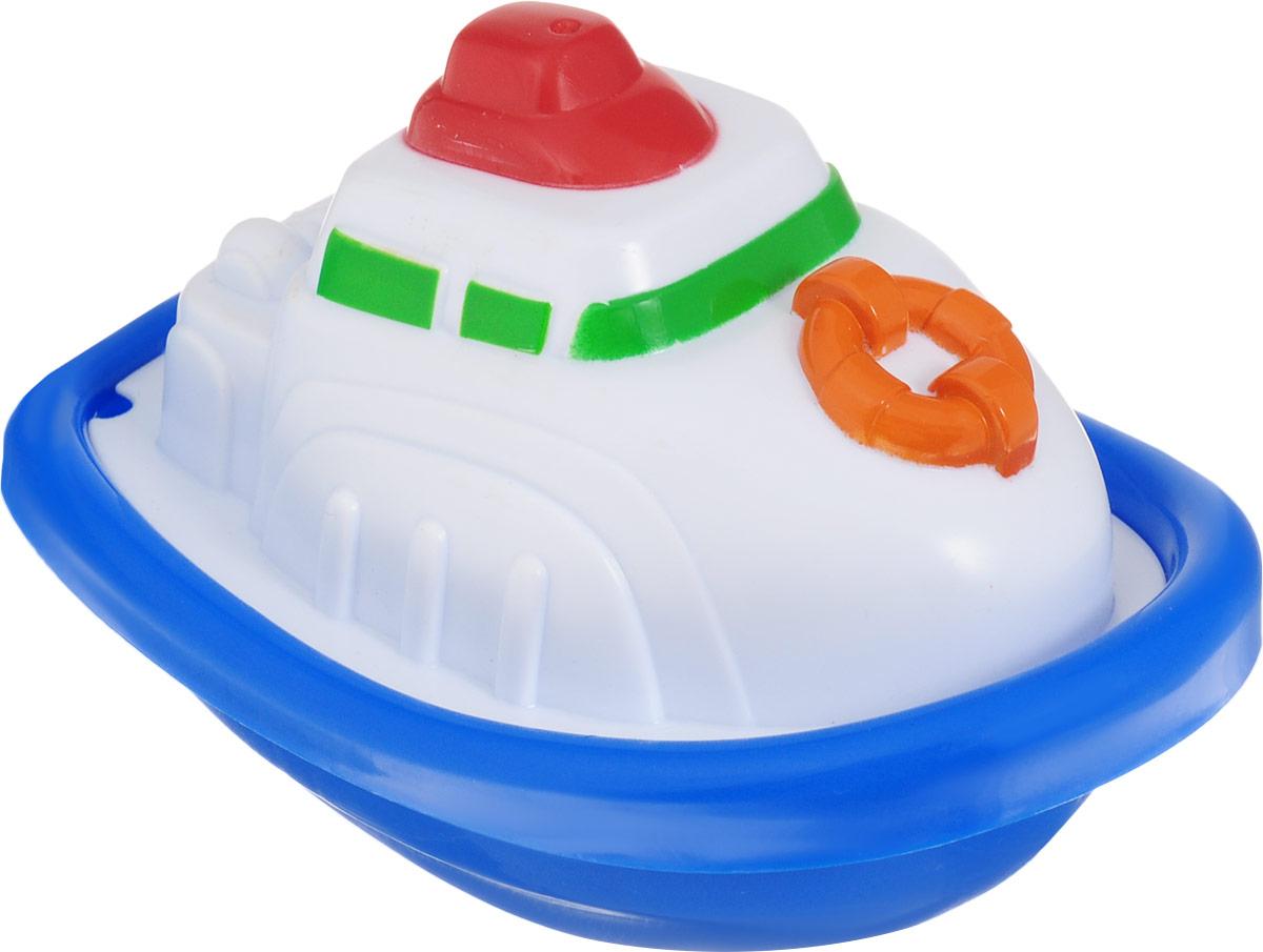 Keenway Игрушка для ванной Лодочка цвет белый синий, Dongguan Keenway Metal & Plastic Toys Co. Ltd