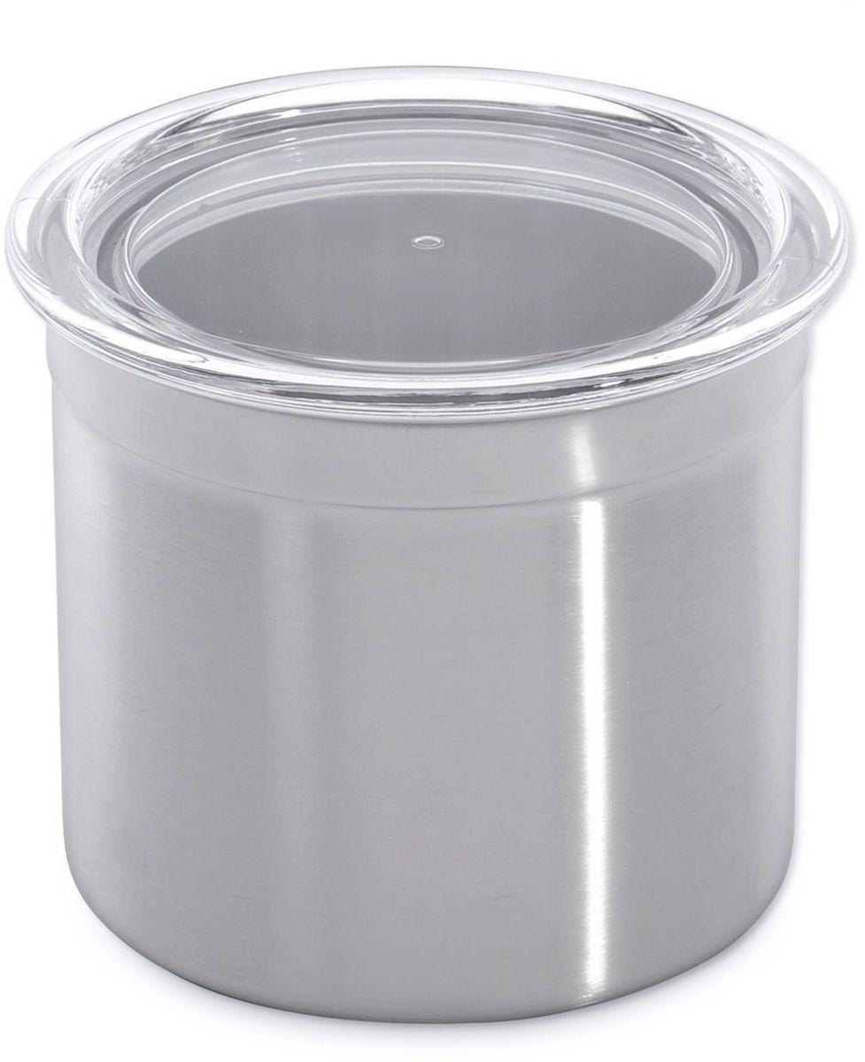 Банка для сыпучих продуктов BergHOFF Studio, с крышкой, 900 мл21395599Банка для сыпучих продуктов BergHOFF Studio -из нержавеющей стали, прямой цилиндрической формы. Крышка акриловая, прозрачная с силиконовой прокладкой.