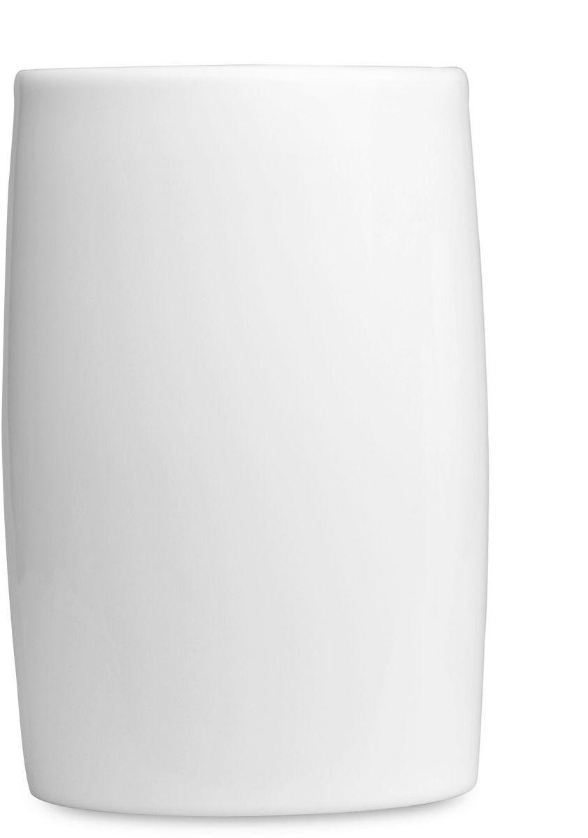 Ваза BergHOFF Concavo, цвет: белый, высота 15,7 см54 009312Ваза BergHOFF Concavo - элегантная ваза выполненная из фарфора белого цвета, послужит отличным дополнением к интерьеру вашего дома. Необычный дизайн вазы делает этот предмет не просто сосудом для цветов, но и оригинальным сувениром, который радует глаз и создает настроение. Окружая себя красивыми вещами, вы создаете в своем доме атмосферу гармонии, тепла и комфорта.