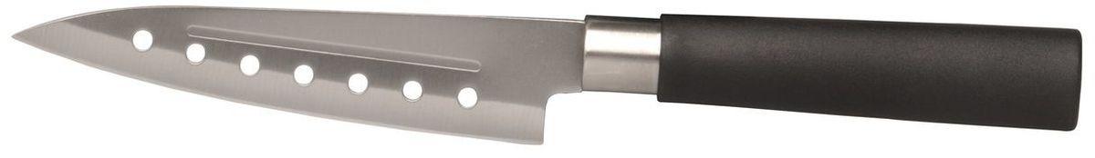 Нож сантоку BergHOFF Cook&Co, длина лезвия 12,5 см54 009312Нож для мяса BergHOFFs Cook&Co - это универсальный кухонный нож, подходящий практически для любых целей, прекрасно сбалансированный.
