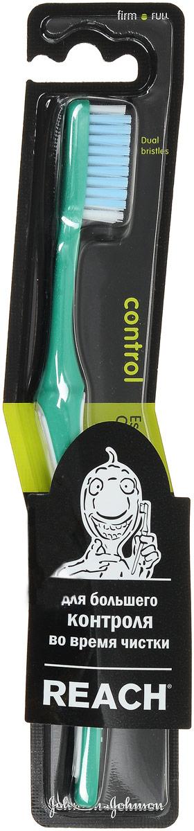 Reach Зубная щетка Control, жесткая, цвет: зеленыйMP59.4DReach Зубная щетка Control, жесткая, цвет: зеленый
