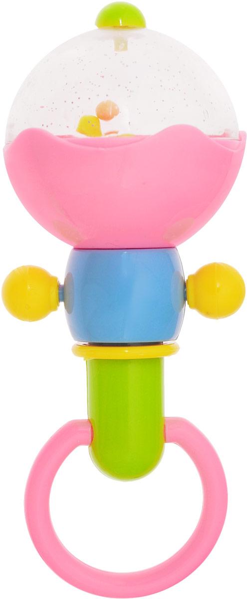 Ути-Пути Погремушка цвет розовый 50369