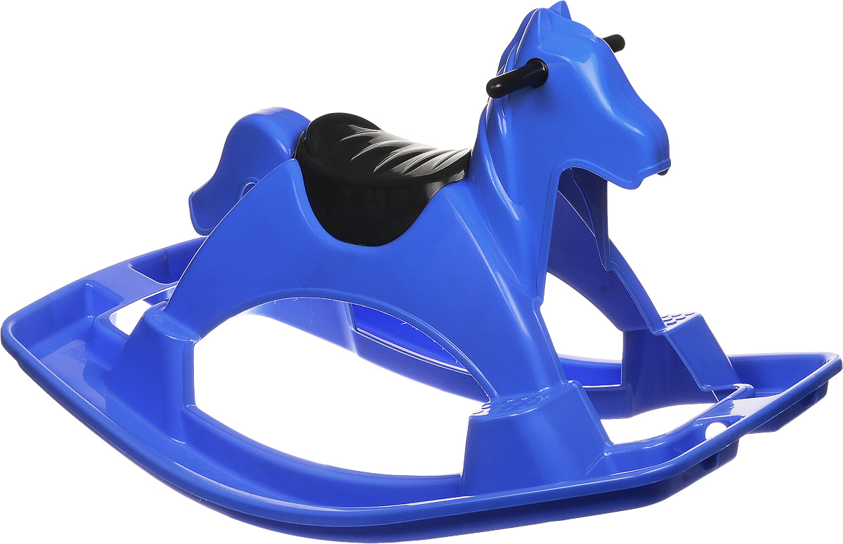 PalPlay Качалка Лошадка цвет синий -  Качалки